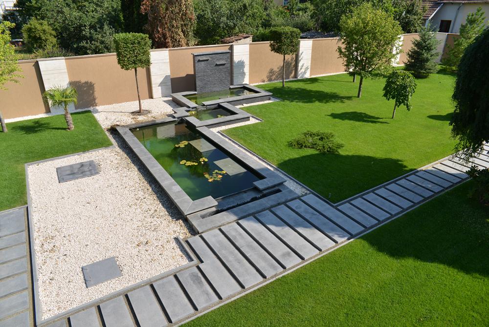 Garden villa christina for Gartenteich design